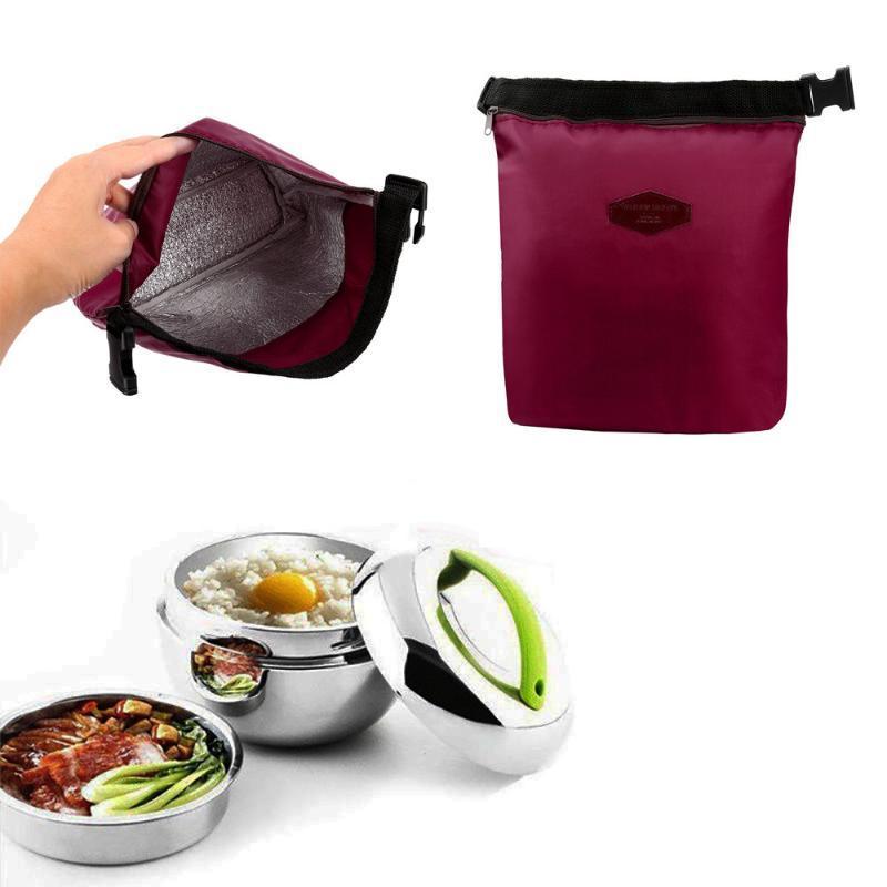 Pranzo portatile Pranzo impermeabile Box da picnic Borsa Pranzo Tenere il portatile Stoccaggio fresco Cooler termico Isolato 2021 XLCKR