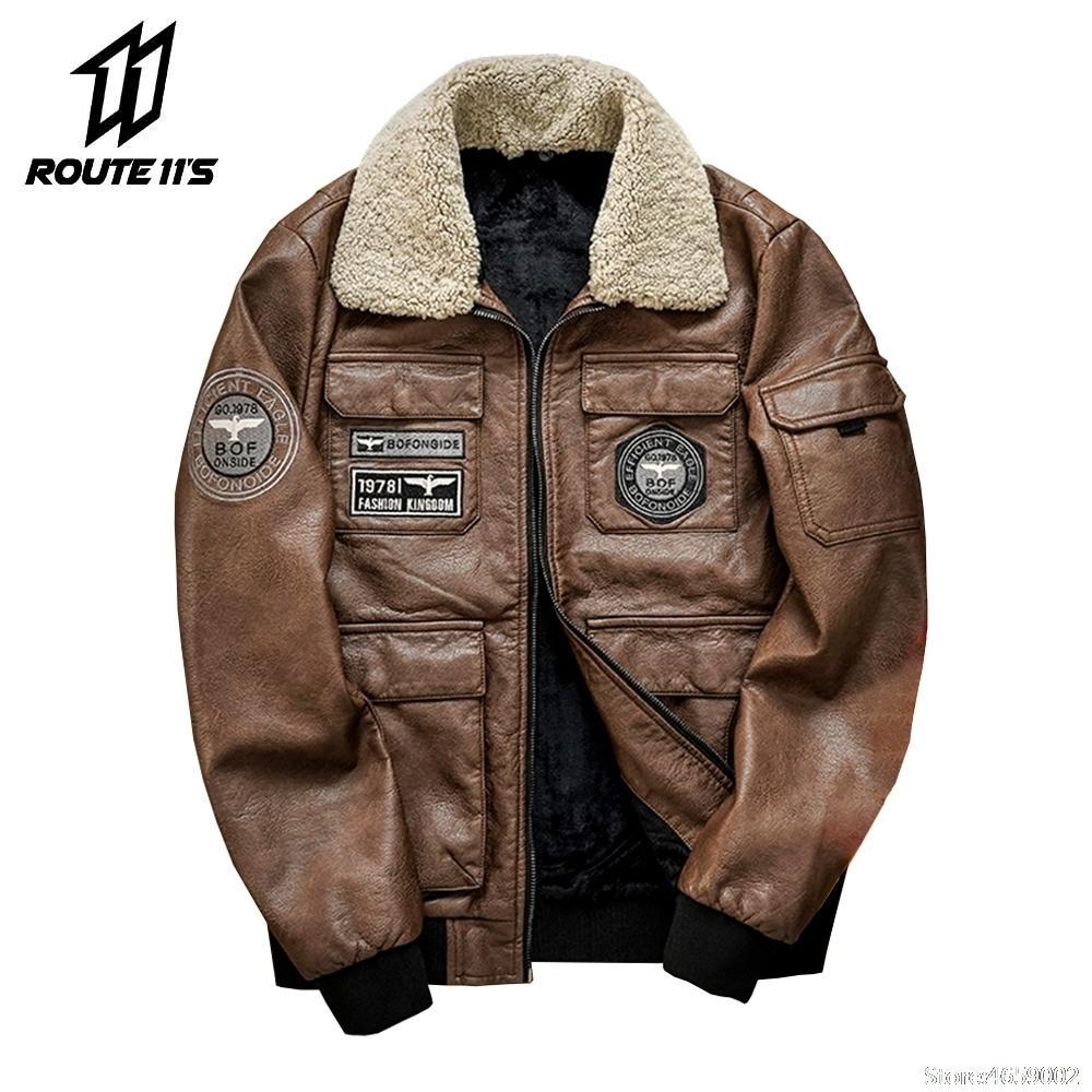 Inverno moto cappotto caldo cappotto di pelliccia degli uomini del cappotto può lo sport bik commerciante di spessore pelle polare uomo parabrezza