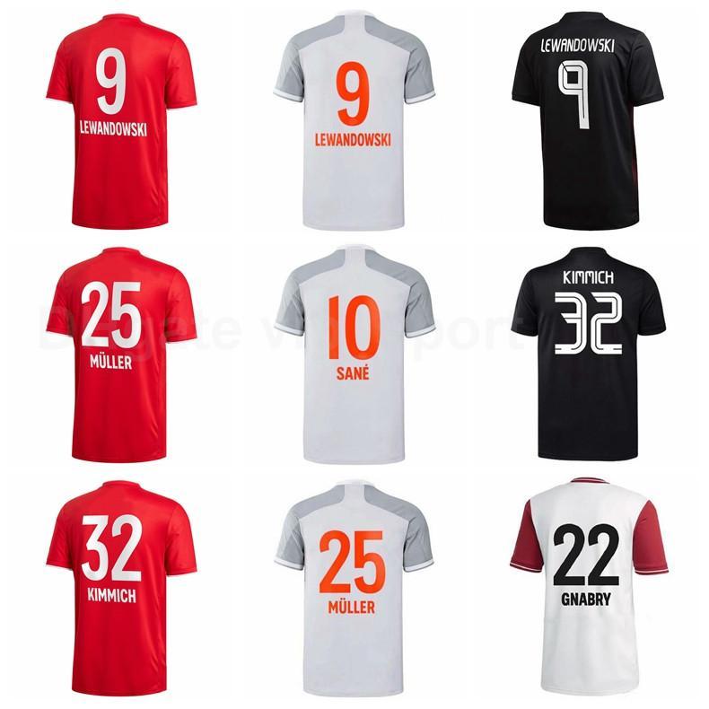 Lewandowski Soccer Jersey Gnabry Muller Kimmich Davies Pavard Coman Coutinho Goretzka Thiago Perisic Zirkzee كرة القدم قميص أطقم B-R
