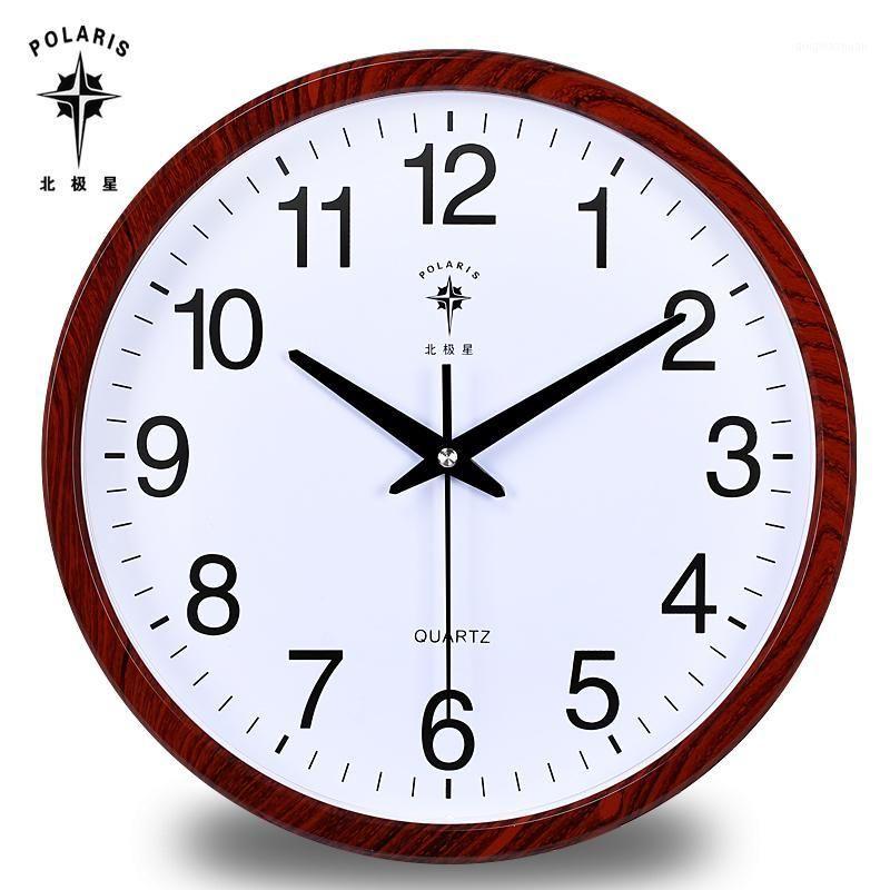 Grande Relógio de Parede Moda Moda Breve Cozinha Silenciosa Casa Quieto Europeu Europeia Sala de estar Quarto Relógio Relógios de Parede Home Decor1