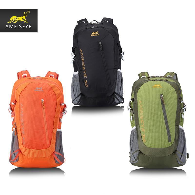 حقيبة في الهواء الطلق تسلق الجبال على ظهره 30L قدرة كبيرة الكتف حقيبة الظهر التخييم حقيبة السفر في الهواء الطلق