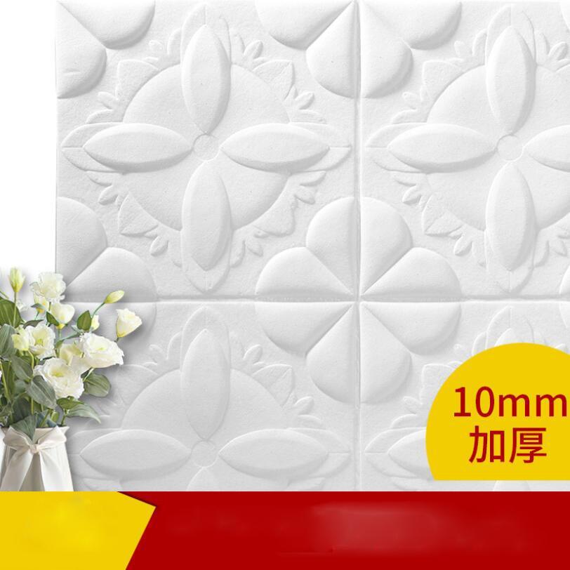 DIY 자기 접착 방수 XPE 거품 벽 스티커 TV 배경에 대 한 3D 벽돌 패턴 거실 침실 장식