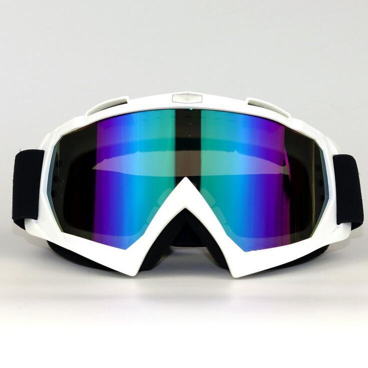 2020 Neueste Motorrad-Sonnenbrille Motocross-Sicherheits-Schutz MX Nachtsicht ATV Off-Road Helm Brille Fahrer Fahren Brillen Skibrillen