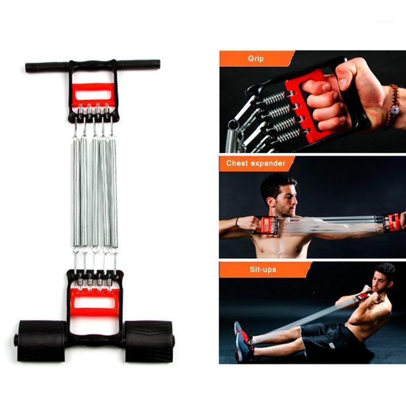 Kaslar Egzersiz Egzersiz Ekipmanları Direnç Bantları Paslanmaz Çelik Bahar Göğüs Geliştirici Genişletici Erkekler Gerginlik Spor Pullater1