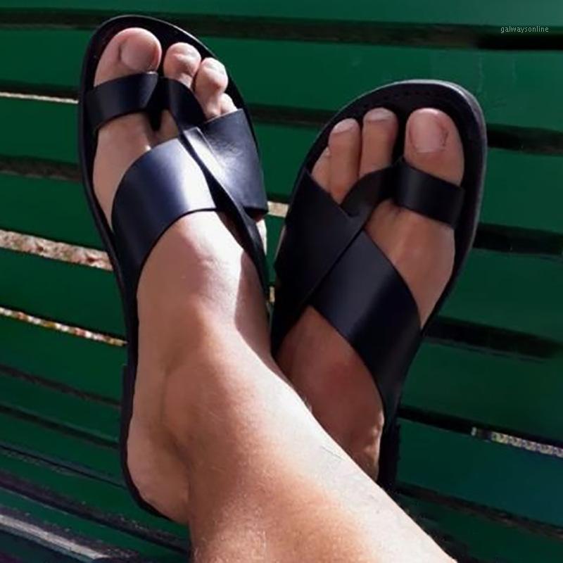 Zapatos para hombres zapatos planos casuales masculino hombre piso verano flip tanga sandalias zapatillas diapositivas zapatos de hombres personalizar zapatos M05111