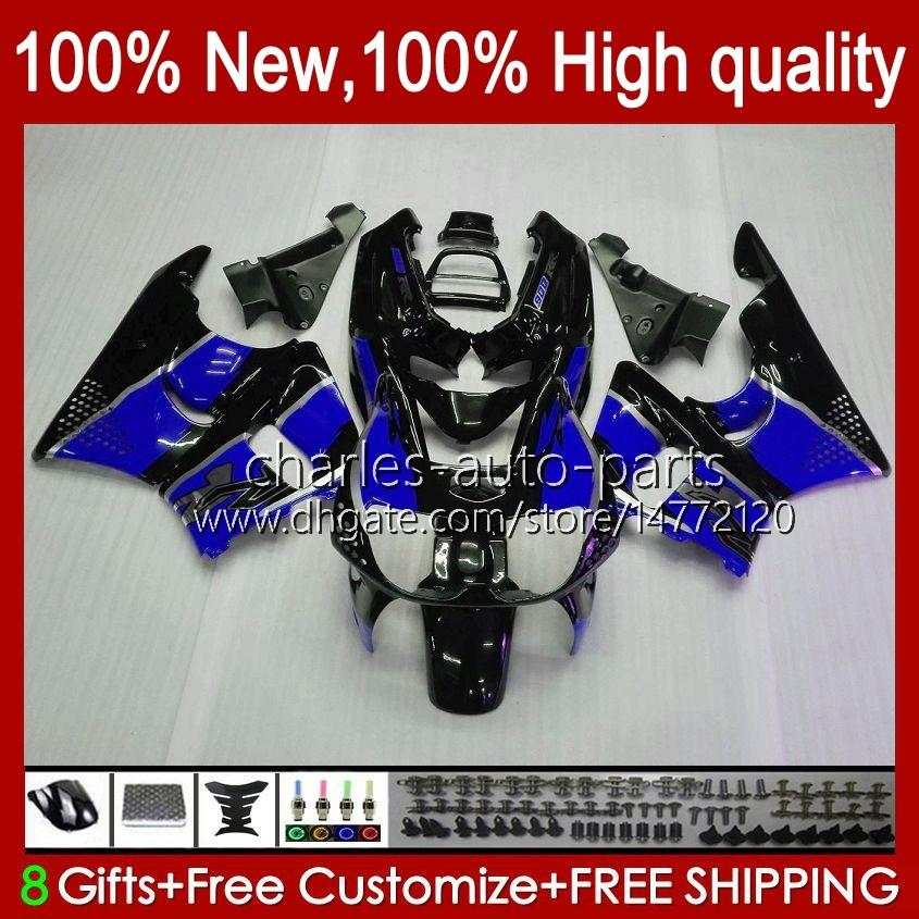 Body kit For HONDA CBR919 CBR900 RR CBR900RR blue flames CBR 919RR 900RR 919CC 93HC.66 CBR919RR 98 99 CBR 900 919 CC RR 1998 1999 Fairing