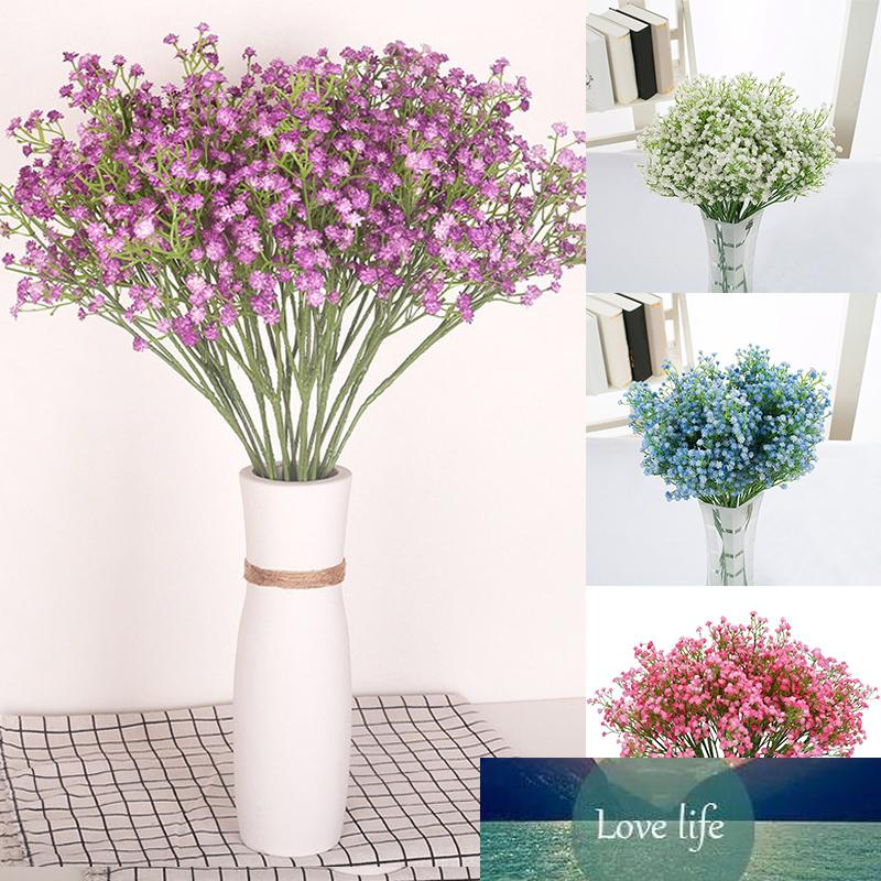 Gypsophila 3 Branch Stars Flower Simulation Fake Flowers Artificial Flowers Bride Holding Flowers Real Touch Party Home Decor