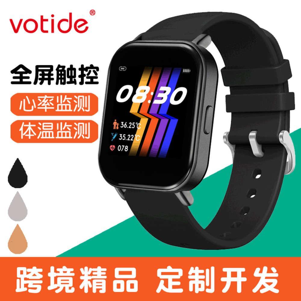 Y66 Smart Touch Pantalla Temperatura y monitoreo de ritmo cardíaco Deportes impermeables Bluetooth WatchBGT