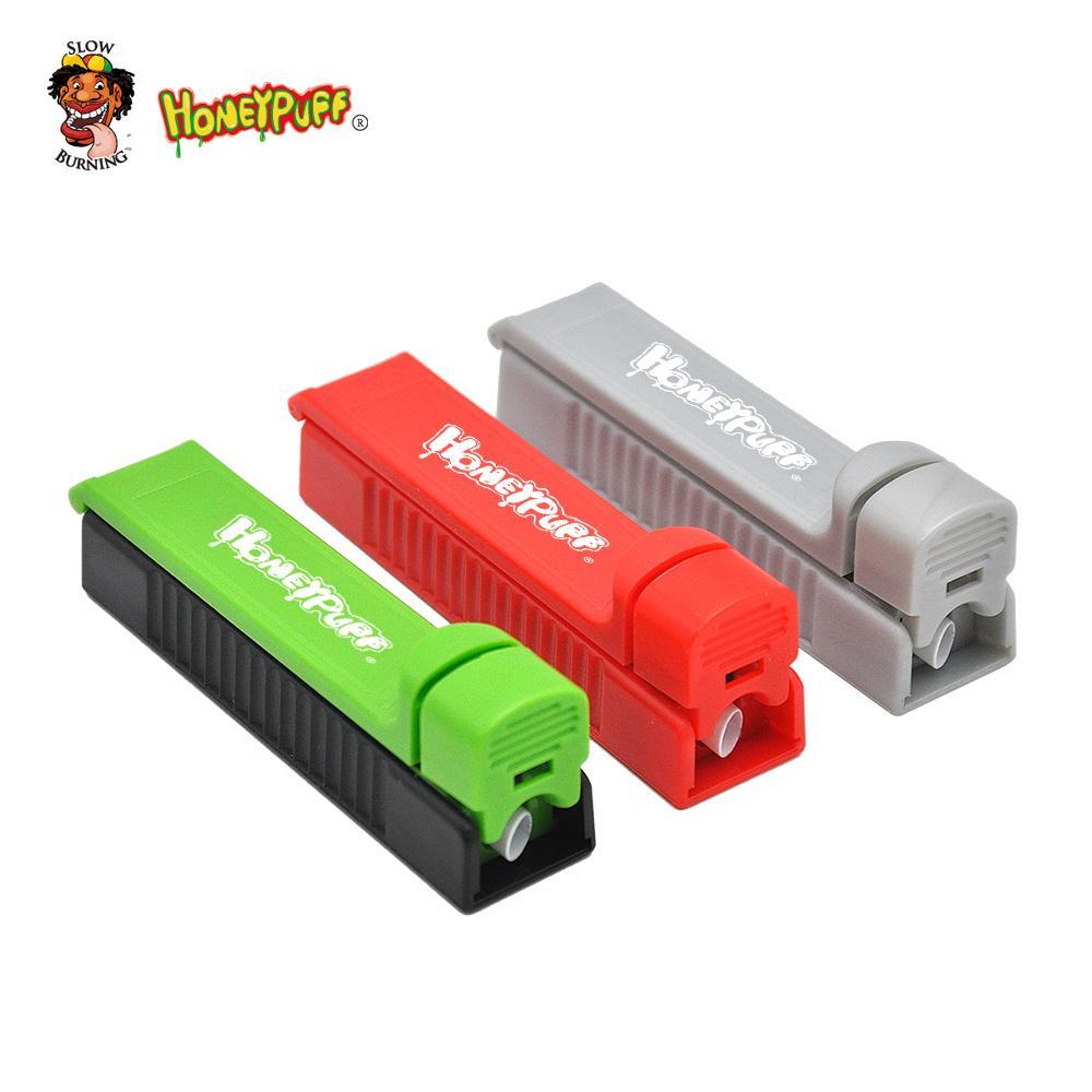 Mini inyector de plástico enrollable 8mm rodillo inyector de roller de roller de cigarrillo de cigarrillos rollo de mano rollo al azar