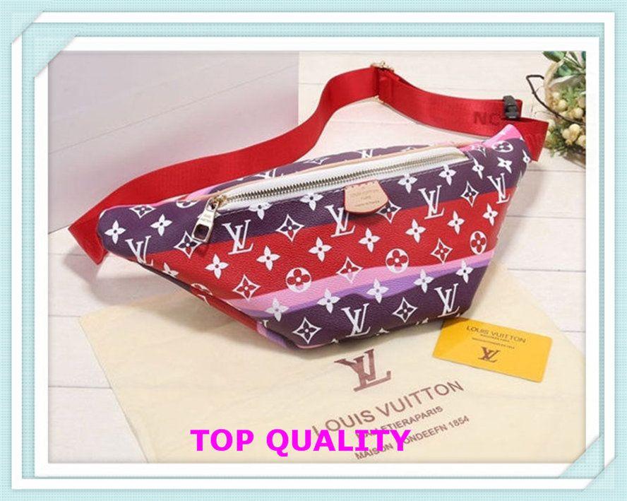Bolsos de cintura baratos Bolsos de la cintura Moda Luxury Bolsos Diseñador Damas Famosas Marcas Totes Tarde Para Las Mujeres Original Bag Handbag Letra