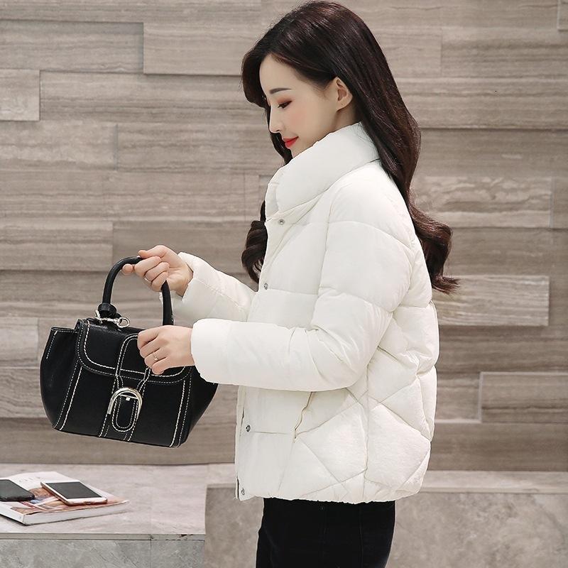 2021 Новая мода светло-пуховик мягкая женская зимняя короткая куртка корейский свободный