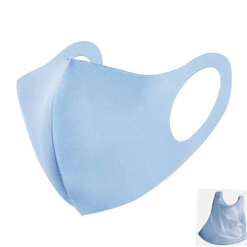 Kühle Silk Baumwolle Gesicht Mund-Maske für einen Mann eine Frau Waschbar Wiederverwendbare Anti-Staub-windundurchlässiges Mouth-Muffel Breath PM2.5-freies Verschiffen-Maske