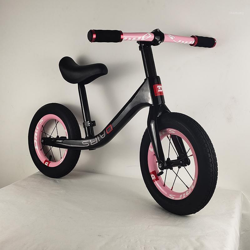 12-дюймовый углеродный детский велосипед детский занос велосипедный велосипед 12 дюймов велосипед 2.48 кг1