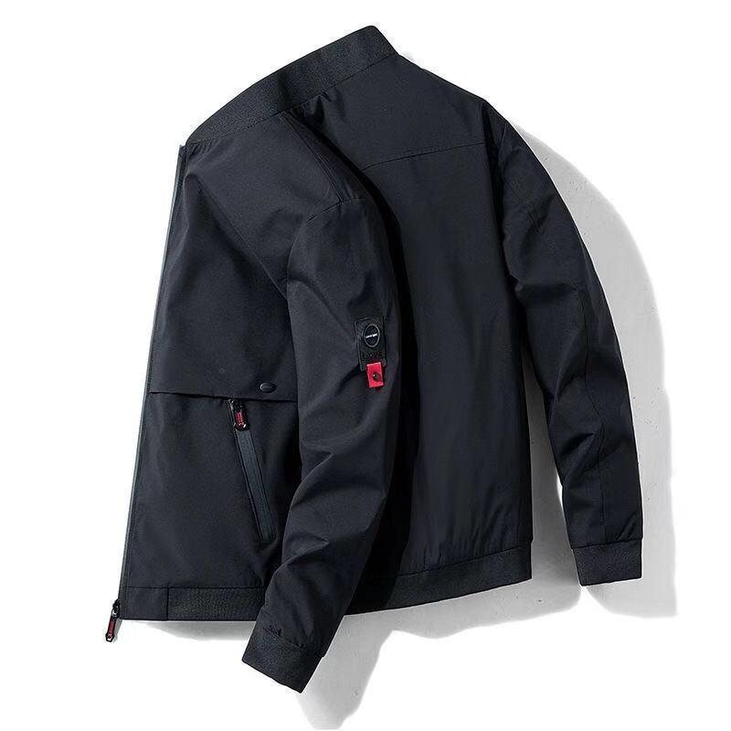 États-Unis Hommes Blouson New Mode chaud Casual Printemps Automne Homme Baseball Manteau Slim Fit solide Outwear Pardessus Pilots'Thin