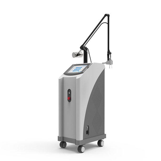 مصنع الموردة الترددات اللاسلكية الأنابيب علاج الجلد على الإنترنت بالجملة CO2 Fractioinal ندبة إزالة حب الشباب الوجه لينة آلة الليزر