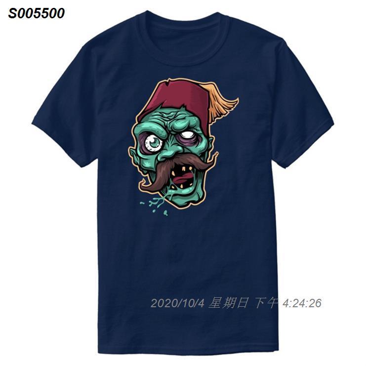 Verrücktes Zombie-T-Shirt für Männer Hipster kühle O-Ansatz Comics Männer und Frauen T-Shirts 2020 plus Größen S-5xl Camisas Hemd Hip Hop 463510