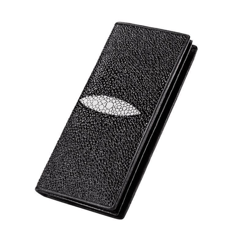 Estuche exclusivo de la billetera Sikai para iPhone 7 7plus 6s 6s Plus Stingray Manta Ray Skin Wallet Funda de cuero para pareja caja de teléfono