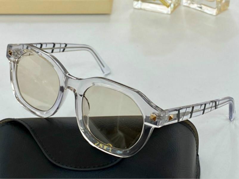 الجديدة 672 النظارات الشمسية لأعلى ورقة نظارات الرجال والنساء أزياء القط إطار إطار مربع النظارات الشمسية مطعمة النظارات مصمم برشام مع حالة الأشعة فوق البنفسجية