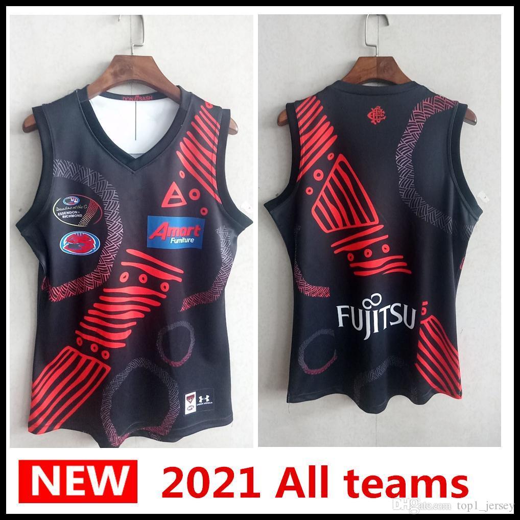 2020 2021 Alle AFL Jersey Geelong Katzen Essendon Bomber ADELAIDE CRIMEN ST KILDA SAINTS GWS GUNTS GUERNSEY Rugby Jerseys Singlet A