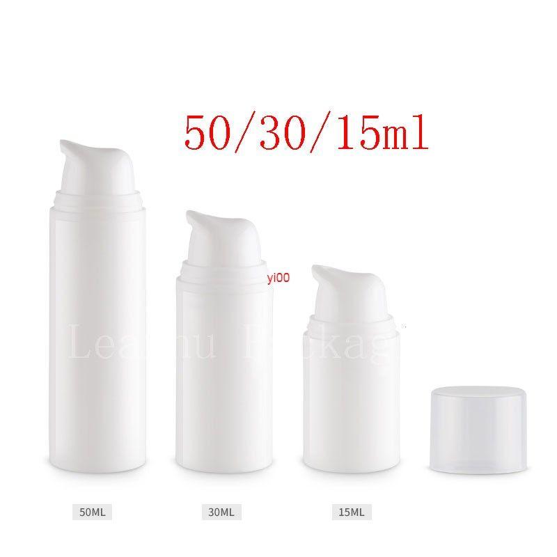 Leere Airless Pumpe Flaschen Druck Emulsionsflasche Probe Lotion Creme Kosmetische Behälterröhre Zinn 24pc / Lochigh Qualtit