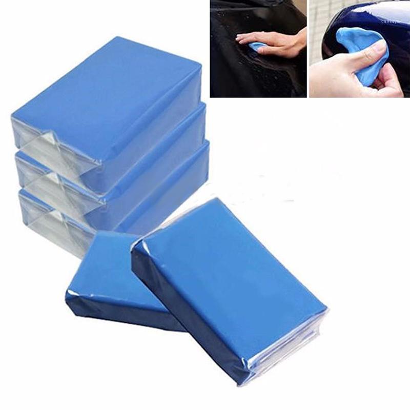 Высокое качество 5 шт. Magic Blue Clay Bar для автомобиля Автоматическая детализация Очиститель Автомобиль Автосискальная машина Удалить мыть Марки Очистки Уход за помощью1