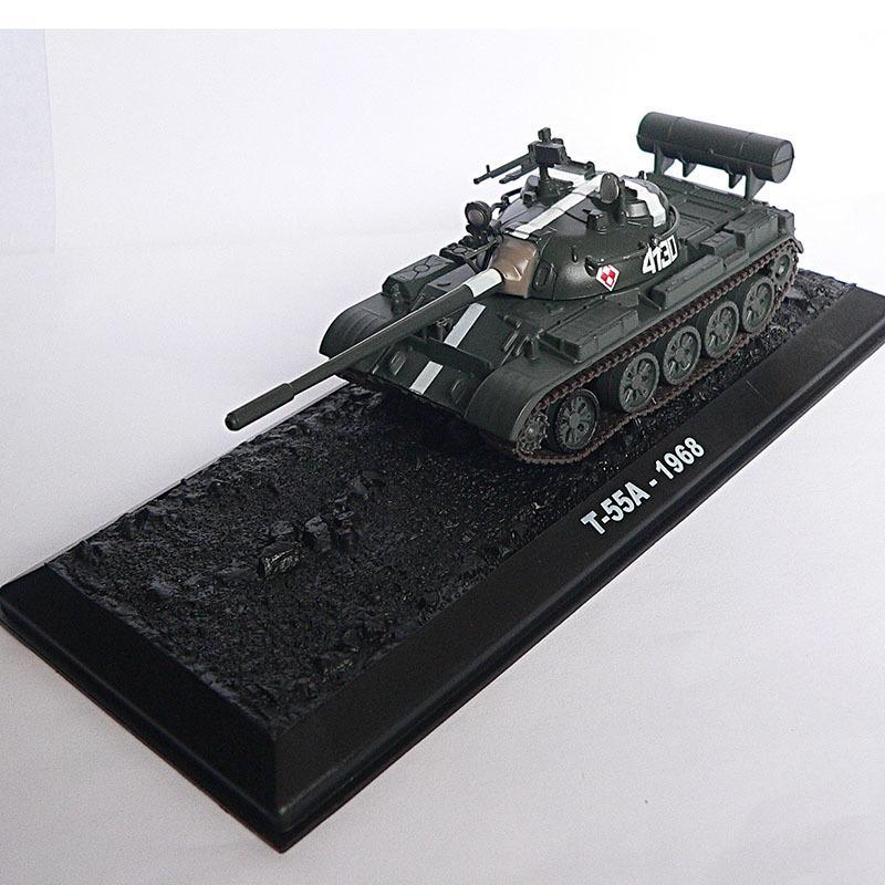Kalıp tankı 12.114 döküm Sıcak modeller 1/72 satış T-55A-1968 koleksiyonu oyuncak hediye
