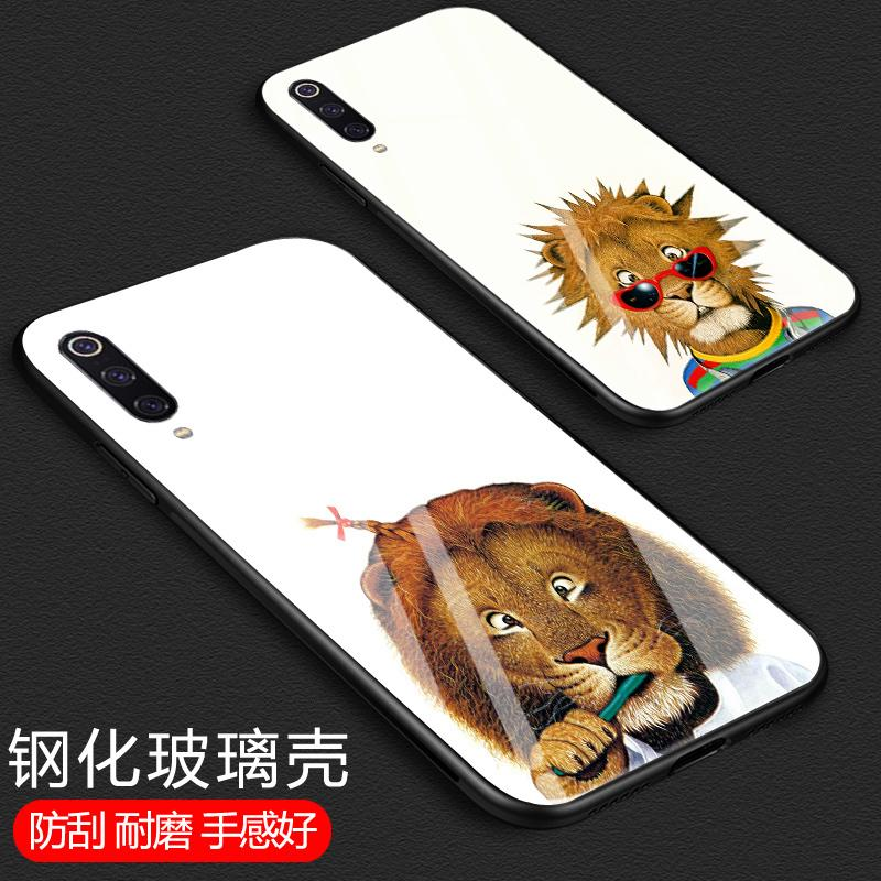9 miroir Note2 verre trempé téléphone mobile mil mélange F1 tous les cas de protection en silicone inclus Xiaomi jeu / 9SE