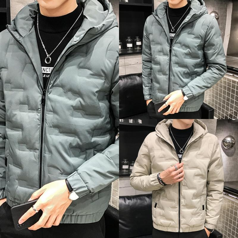 HC1 Горячая мода продажа мужчин хлопчатобумажная пиджака в зимние мужские пальто куртки вниз с капюшоном куртки высокого качества женская куртка бомбардировщик