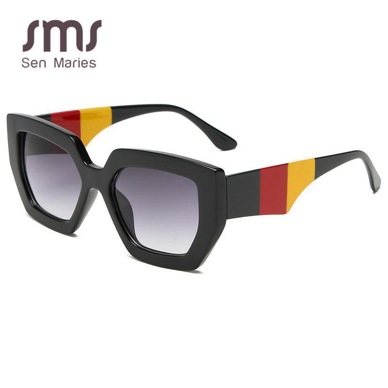 Neue damen sonne frauen sonnenbrille weibliche marke design mode bunte vintage für quadratische männer retro eyewear uv400 oculos brille ehquh