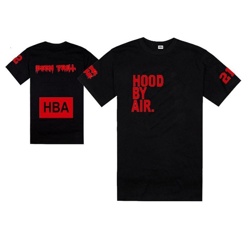 été Nouveau t-shirt capot HBA Air X Vous connaissez Trill tee shirt 100% coton Livraison gratuite