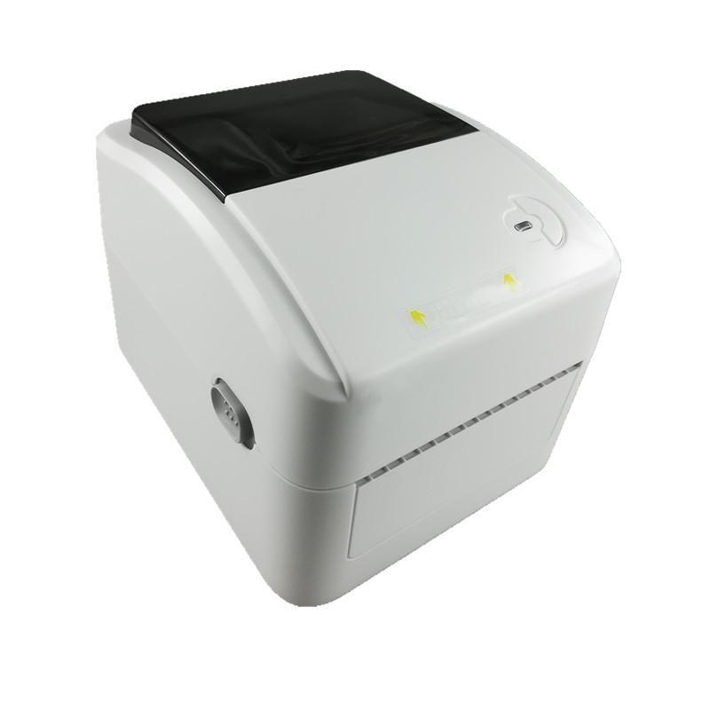 420B Поддержка принтера Термический этикетки 20-108mm Ширина печати этикеток курьером бумаги для печати штрих-кода Термическое получение принтеры