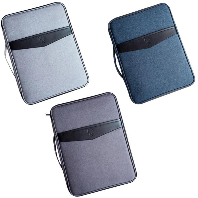 Business Oxford A4 Tissu Multifonctionnel Notebooks Multifonctionnel Notebooks Sac Stylos de classement Produits Sacs Stockage pour Alwex portable imperméable