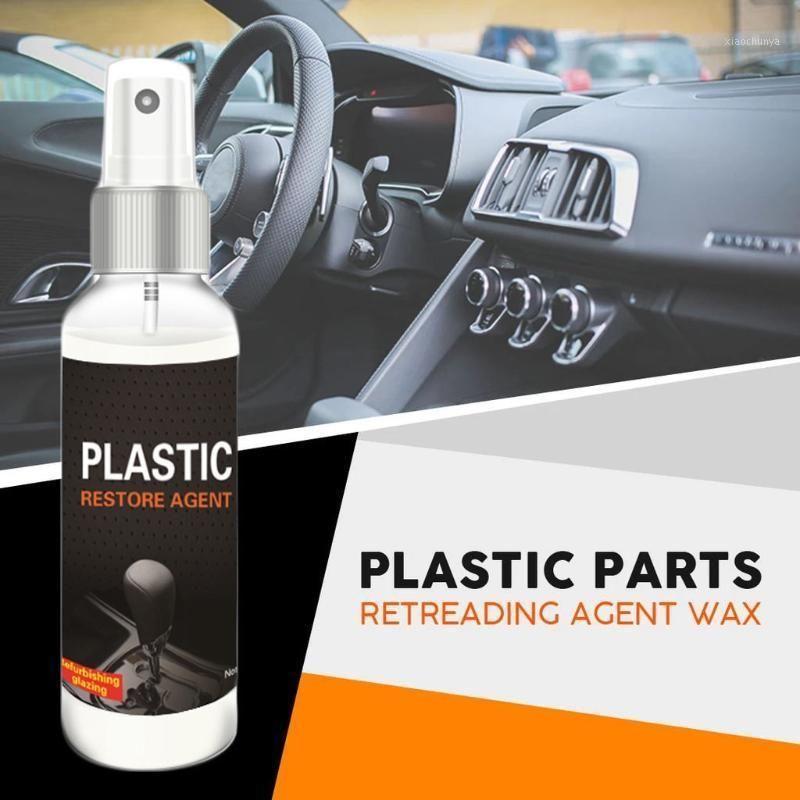 Autoinnenraum Renovierte Beschichtung Paste Kunststoff Teile Rundernährungsmittel Wachs Instrument Wachs Auto Dashboard Reduziermittel 30ml / 50ml1