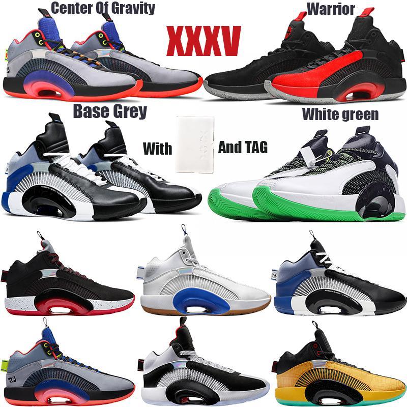 Yerçekimi Hanedanlar Morpho 35'lerin Bred Sepya Taş Bayou Erkek Erkek Basketbol Ayakkabı Of BOX Jumpman XXXV 35 Merkezi ile