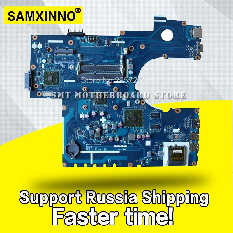 PBL70 LA-7323P Rev: 1A with CPU For Asus Laptop motherboard X73B K73B K73BY K73BR 4 pieces video memory DDR3 Almost New S-6