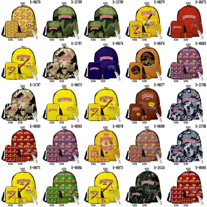 Карандаш сигара открытый 3 шт.лот плечевой карандашный чехол на плечо Backpack медовый ягодный сумка Backwoods Backwoods Case Outdo Bag School рюкзак Shfnb