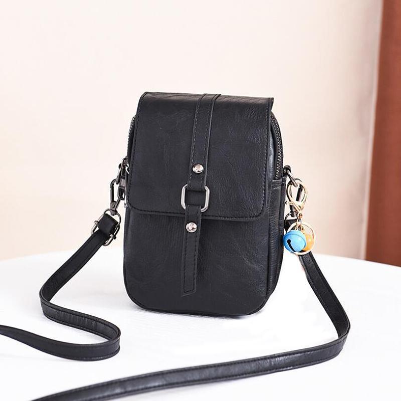 Kız Mini Çanta Ve Telefon Cep Crossbody Bag 2020 için Kadınlar Messenger Çanta Küçük PU Deri Kadın Omuz Çantaları