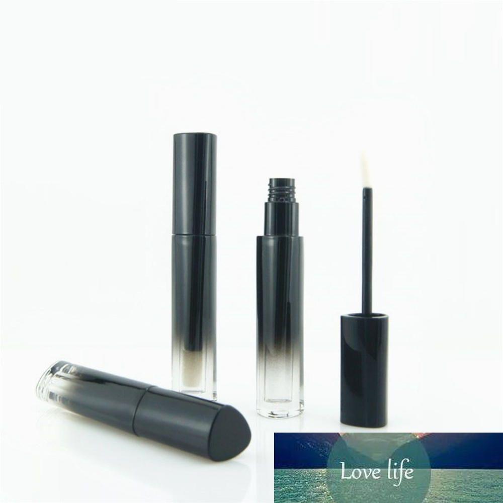 5шт Треугольные градиент цвета Lip Gloss Tubes Пластиковые Lip Glaze Balm Refillable бутылки Образец косметической упаковки контейнера