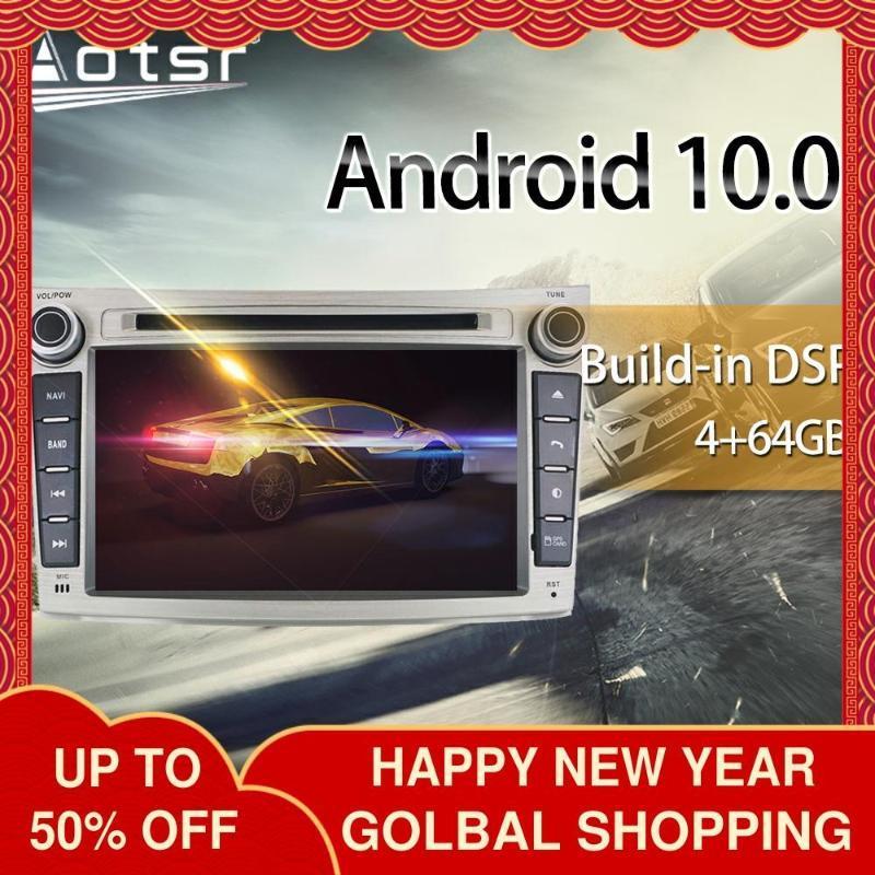 레거시 아웃백을위한 자동차 DVD 플레이어 2009-2014 멀티미디어 라디오 스테레오 안드로이드 10 DSP 7 인치 IPS 스크린 오디오 GPS Navi 헤드 유닛