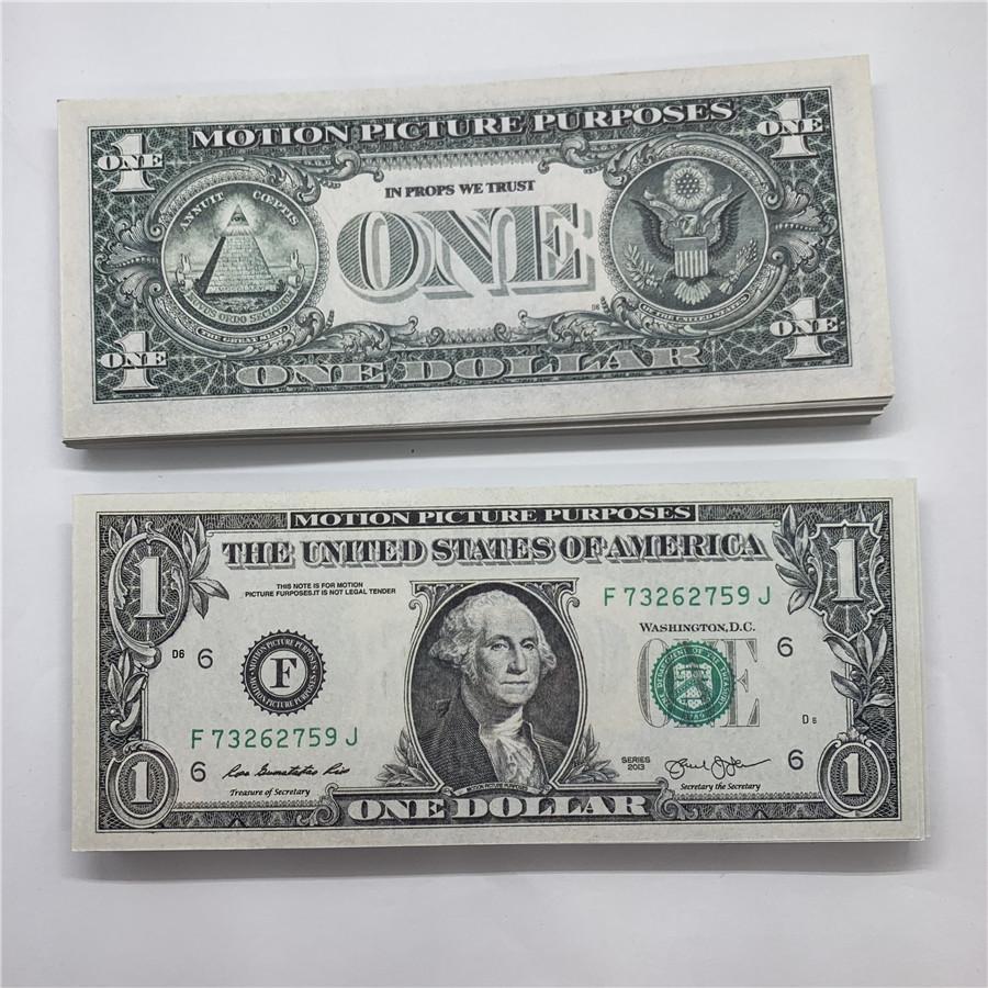 Marke US NEUE Spielzeug 2A Währung US Paper Kopie Fabrikdollar Moopi Direktwährung Papier Verkauf Währung Requisiten OneOA