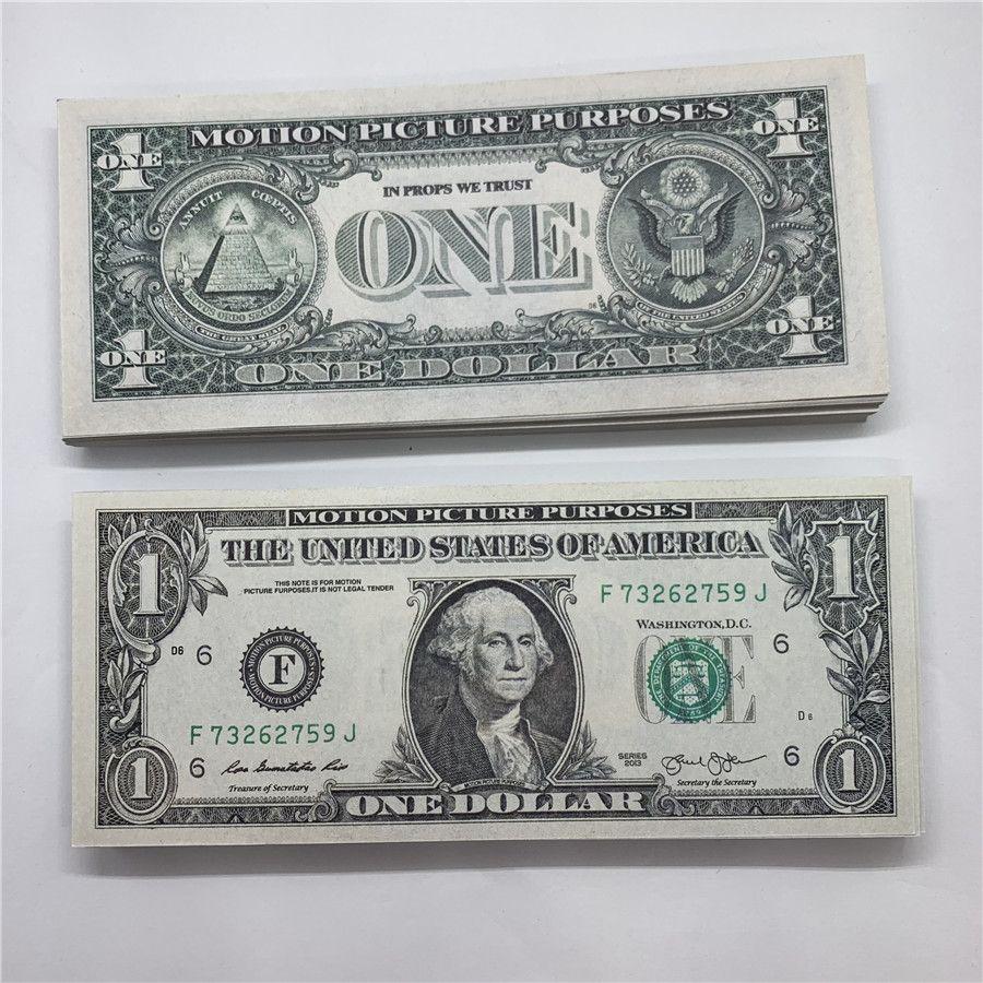 Скопируйте фабрику прямых реквизит валюты Новая валюта игрушка US Dollar Paper US бренд 2А продажи Moopi Paper KCRBF