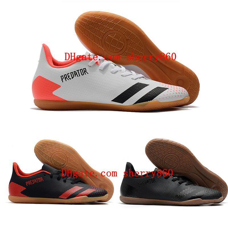 2021 футбольная обувь качественная мужская хищник 20.4 в Intdoor Clears кожаные футбольные ботинки Tacos de Futbol