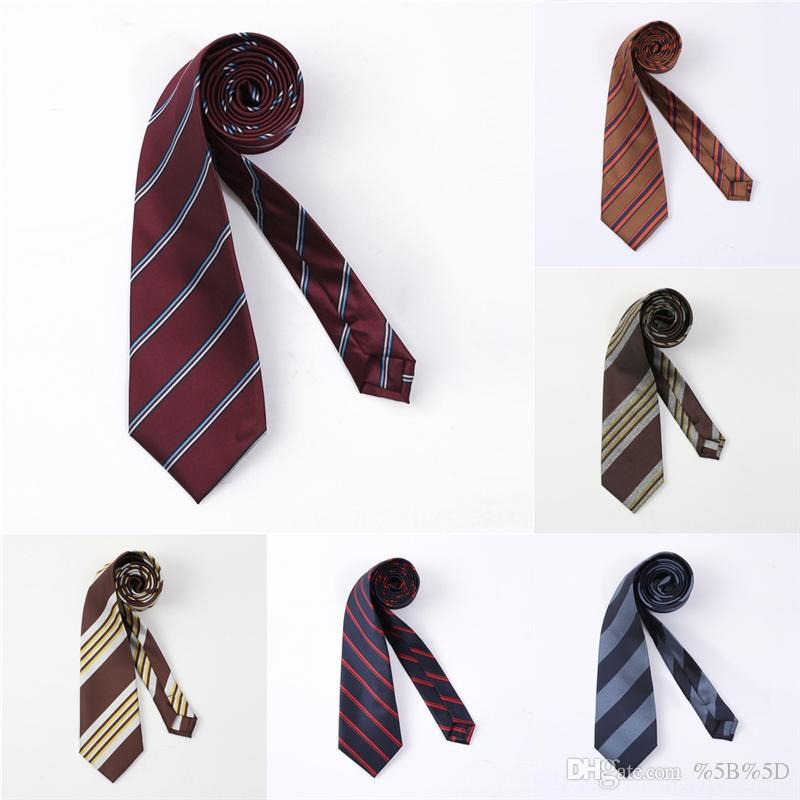 NFX Совершенно Новая Свадебная Цветочная шея галстука Деревочные дежурные галстуки Случайные полиэфирные галстуки Тонкая галстука скинни м для мужчин
