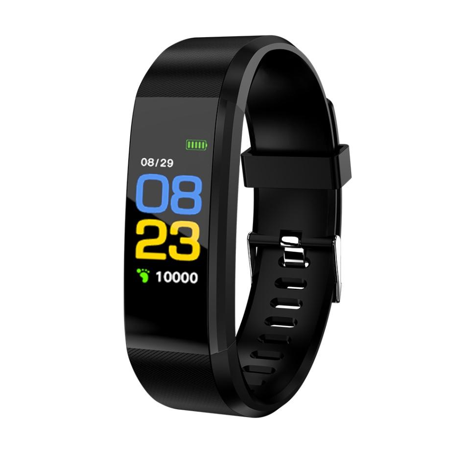 115Plus Armband Herzfrequenz Blutdruck Smart Band Fitness Tracker Smartband Bluetooth Armband für Fitbits Smart Watch