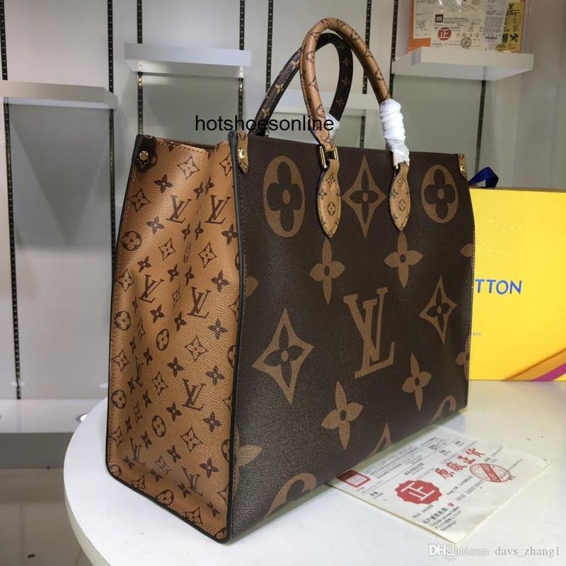 5A nuovo cuoio della borsa della spalla OnTheGo Petite Boite Chapeau donne Monogrram inversione circolare borsa Messenger Crossbody 5