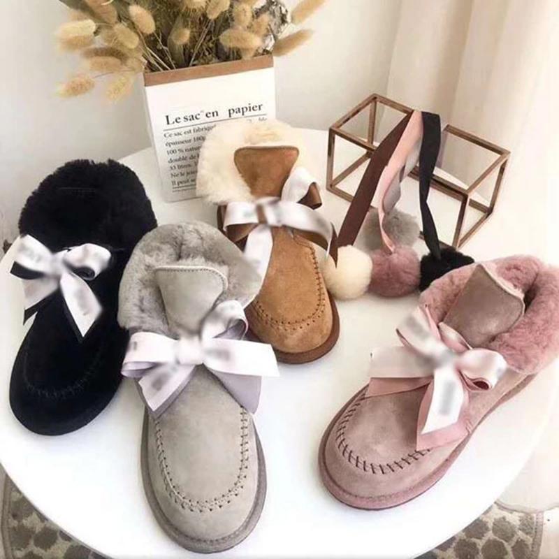 UGG Kallen Schnee-Aufladungen Frauen-Short-Schlauch 2020 neue koreanische Art Velvet Boot Students All-Gleiches warmer starke Cotton Schuhe Brot Schuhe Winter