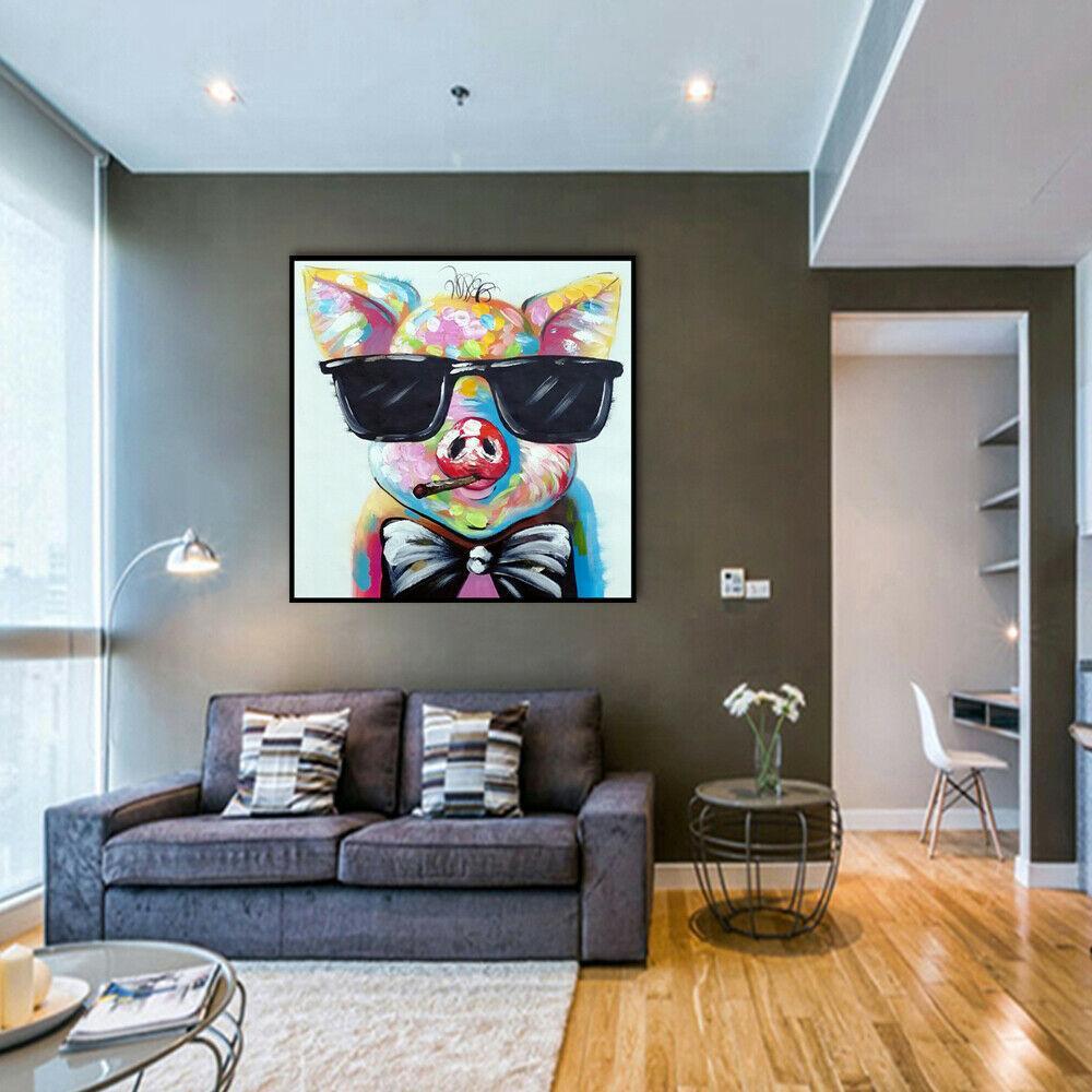Animal legal Voo leitão Framed Unframed Home Decor Artesanato / HD impressão pintura a óleo sobre tela Wall Art Canvas Pictures ER70