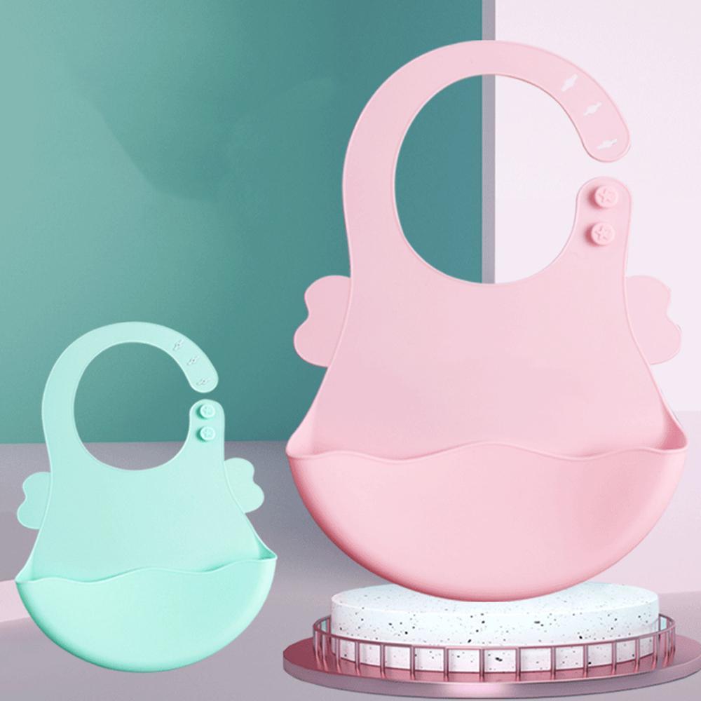 salive bébé gouttes de salive bébé serviette imperméable fournitures maternelle et infantile de qualité alimentaire silicone bib manger custom06