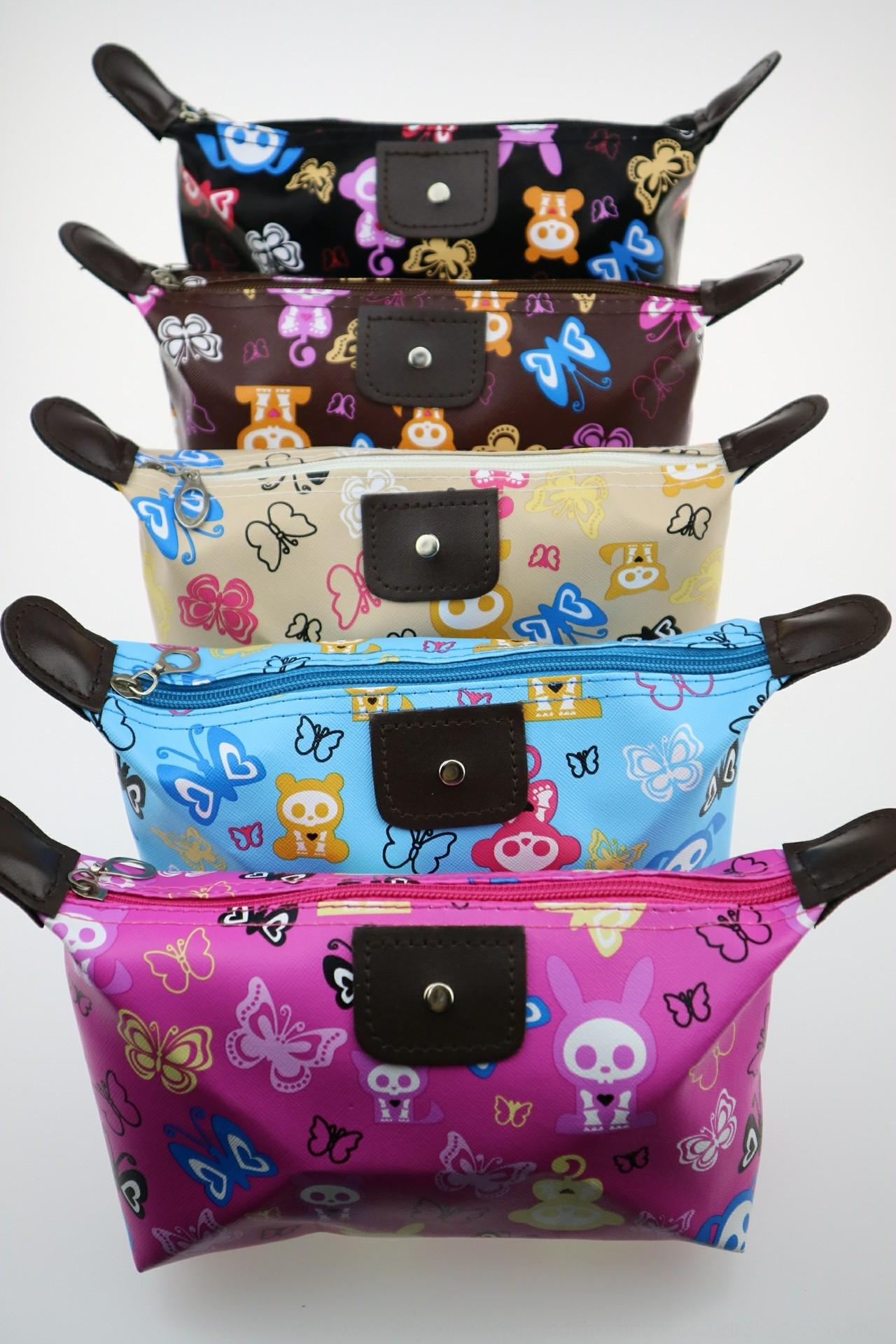 Il nuovo trucco coreano portatile bagagli gnocchi sacchetto cosmetico portatile borsa polpetta di immagazzinaggio di corsa impermeabile grande capacità ftBiX