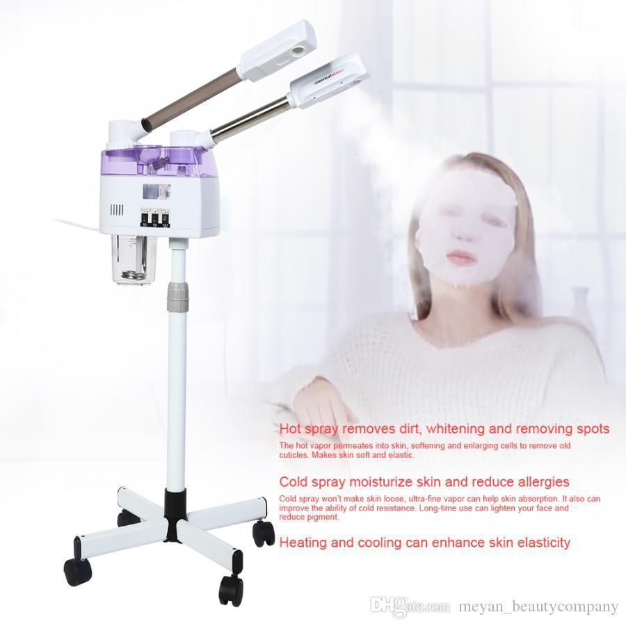 2020 пароход для лица горячий и холодный распылительный станок для лица Steamer Home Spa Ozone Puaming Ion Sparyer Skin Beauty SPA для лица